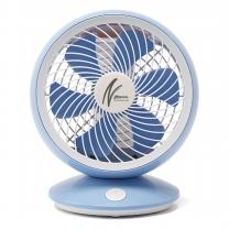 신일산업 선풍기/USB/탁상용/휴대용/풍향조절/6엽/블루 SIF-D06BL