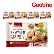 굽네 닭가슴살 김치만두 180g 5팩_HP03