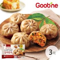 굽네 닭가슴살 김치만두 180g 3팩_HP02