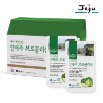 [어니스틴] 제주 자연담은 양배추 브로콜리즙 (100ml x 30개)