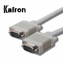 칼론 RGB 모니터 케이블 1.8M 그레이