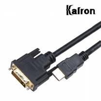 칼론 HDMI-DVI 케이블 5M