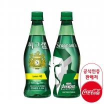 [무료배송]씨그램 레몬 450ml PET 20개