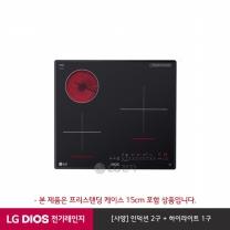 LG DIOS 하이브리드 전기레인지 프리스탠딩 15cm BEY3GT1A