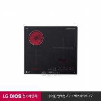 LG DIOS 하이브리드 전기레인지 빌트인 BEY3GT1