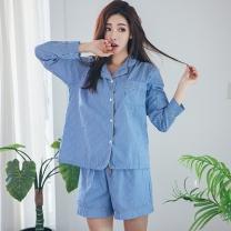 [바보사랑]라인셔츠 잠옷세트 이지웨어 홈웨어