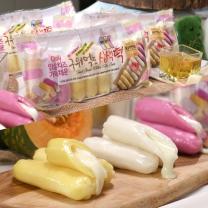 [홈쇼핑방영] 구워먹는 임실치즈 삼색 치즈떡 350gx10봉