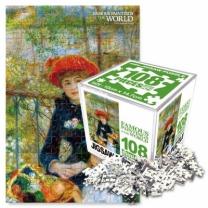[바보사랑]명화퍼즐 108P 두자매