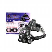한빛 LED 충전식줌 헤드랜턴(5200루멘) hv-25hd