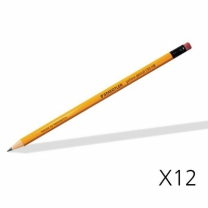 [바보사랑]스테들러 옐로우 연필 134 12자루