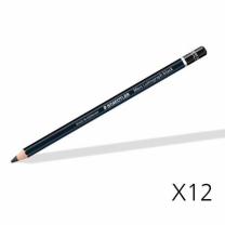 [바보사랑]스테들러 마스 루모그라프 블랙 연필 100B 12자루