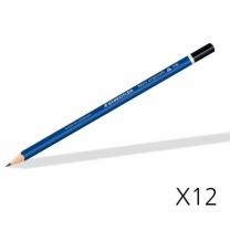[바보사랑]스테들러 마스 삼각 연필 에고소프트 150 1타 12자루