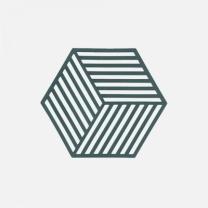 [바보사랑]존덴마크 존 헥사곤 실리콘 냄비받침 - 딥그린
