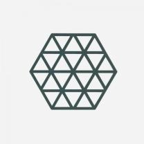[바보사랑]존덴마크 존 트라이앵글 실리콘 냄비받침 - 딥그린