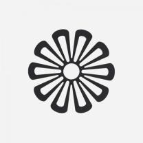 [바보사랑]존덴마크 존 데이지 팟홀더 실리콘 냄비받침 - 블랙