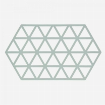 [바보사랑]존덴마크 존 빅트라이앵글 실리콘 냄비받침 - 스카이