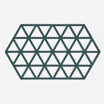 [바보사랑]존덴마크 존 빅트라이앵글 실리콘 냄비받침 - 딥그린