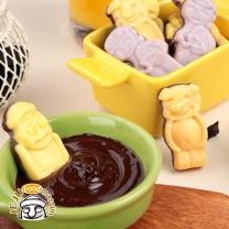 [푸른제주] 하르방 초콜릿 3종세트 (한라봉+감귤+백년초 각 78g)