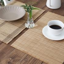 [바보사랑]대나무 테이블  식탁 개인매트  1P- 2type annahouse