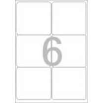 물류관리용 라벨(LS-3116/100매/6칸/폼텍)