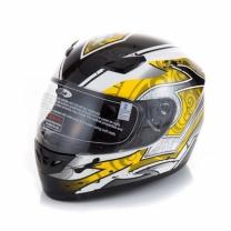 [바보사랑]MXO 오토바이 모터사이클 헬멧 (다크)