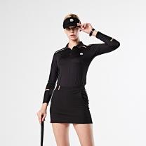 MAHES 마헤스 뮤어 라이언 325 골프셔츠 블랙 여성 GT60314