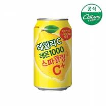 [롯데칠성몰] 데일리C 레몬1000 스파클링 355mlx24캔