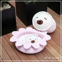 [바보사랑]꽃잎 펠트하우스