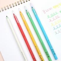 [바보사랑]꿈그리미 친환경 색연필+투명캡 5색세트