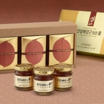 산삼배양근담은꿀세트 (유리병) 110gx3