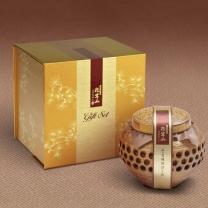 산삼배양근담은꿀세트(명품) 도자기 400g