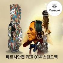 정품 페르시안캣 PER 014 스탠드백 인디언 골프용품