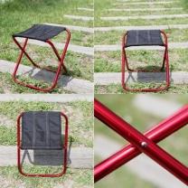 [바보사랑]3단 폴딩 원터치 휴대용 등산의자/미니체어/낚시의자