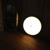 [바보사랑]은은한 달빛 감성 문스톤 LED 터치 무드램프