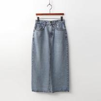 [바보사랑]Long Maxi Denim Skirt