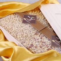 가평잣 황잣 백잣 오동나무 선물세트 1.2kg