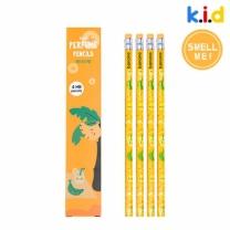 [바보사랑]향기솔솔연필(바나나향x4자루)