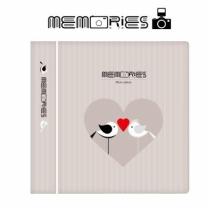 [바보사랑]메모리즈 인스탁스 미니필름 앨범 3단 011-Mr and Mrs