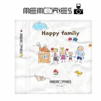 [바보사랑]메모리즈 인스탁스 미니필름앨범3단 020-Wimpy family