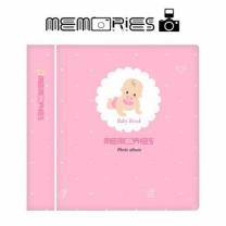 [바보사랑]메모리즈 인스탁스 미니 앨범 2단 016-Pink baby book