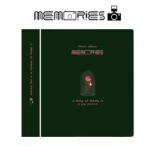 [바보사랑]메모리즈 인스탁스 미니 앨범 3단 001-Beautiful rose