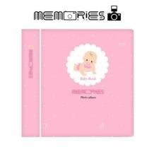 [바보사랑]메모리즈 인스탁스 미니 앨범 3단 016-Pink baby book