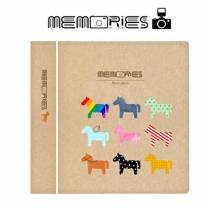 [바보사랑]메모리즈 인스탁스 미니필름앨범2단 004-Horses night