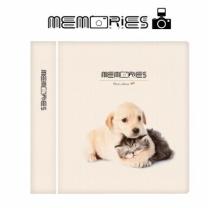 [바보사랑]메모리즈 인스탁스 미니필름앨범 3단 006-Kitty puppy