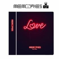 [바보사랑]메모리즈 인스탁스 미니필름 앨범 2단 012-Neon sign