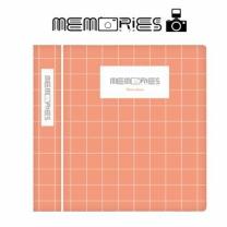 [바보사랑]메모리즈 인스탁스 미니필름앨범3단 014-Peach square