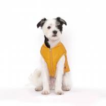 플로트 강아지옷 웜테크 패딩 옐로우