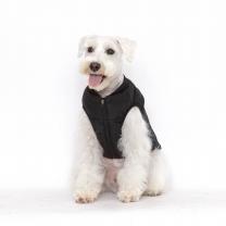 플로트 강아지옷 웜테크 패딩 블랙