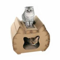 [바보사랑]고양이 스크래쳐 하우스 (나비)