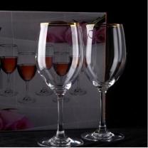 [바보사랑]커플 골드 보르도 와인잔 1개